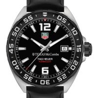 Texas McCombs Men's TAG Heuer Formula 1 with Black Dial
