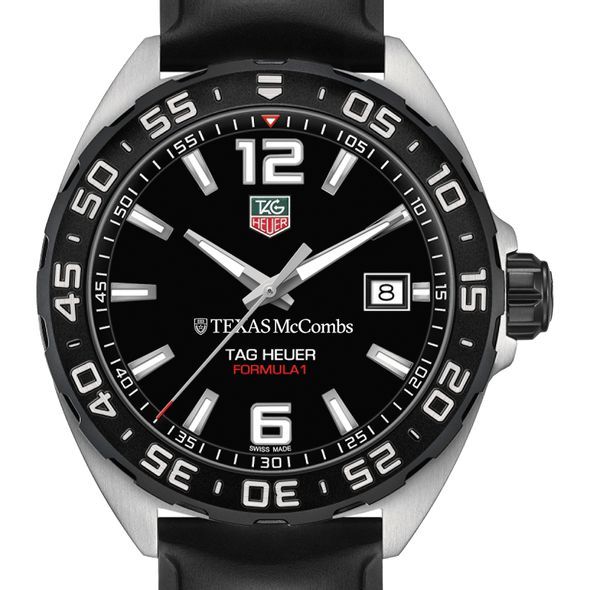 Texas McCombs Men's TAG Heuer Formula 1 with Black Dial - Image 1