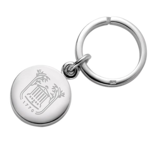 College of Charleston Sterling Silver Insignia Key Ring