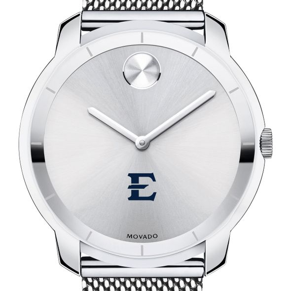 East Tennessee State University Men's Movado Stainless Bold 44