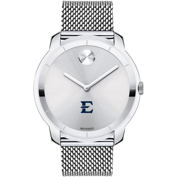 East Tennessee State University Men's Movado Stainless Bold 44 - Image 2