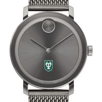 Tulane University Men's Movado BOLD Gunmetal Grey with Mesh Bracelet