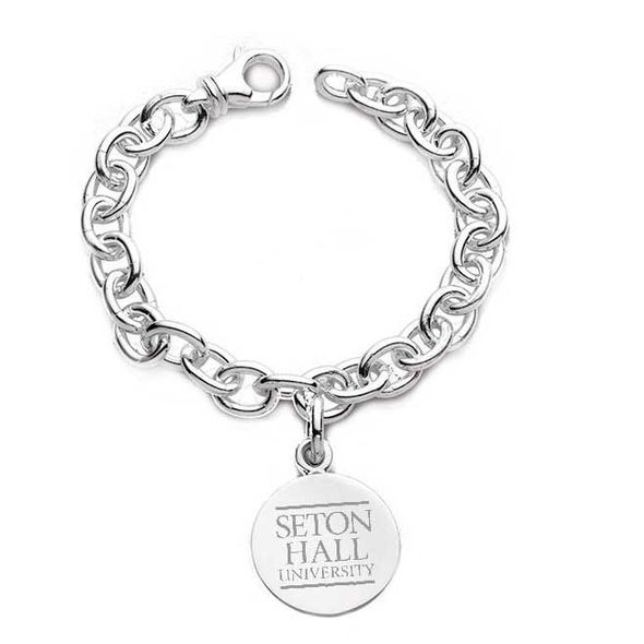 Seton Hall Sterling Silver Charm Bracelet - Image 1