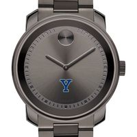 Yale University Men's Movado BOLD Gunmetal Grey