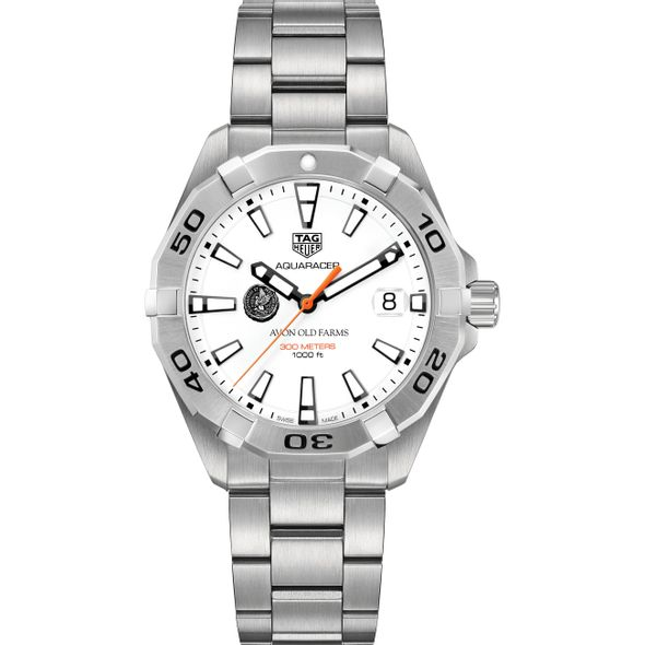 Avon Old Farms Men's TAG Heuer Steel Aquaracer - Image 2