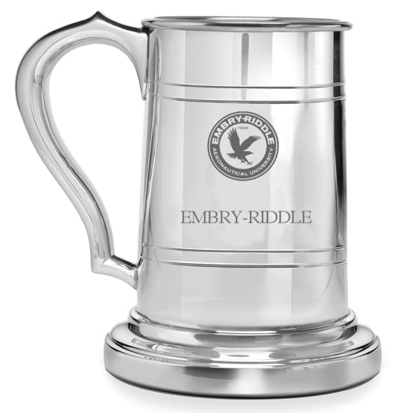 Embry-Riddle Pewter Stein