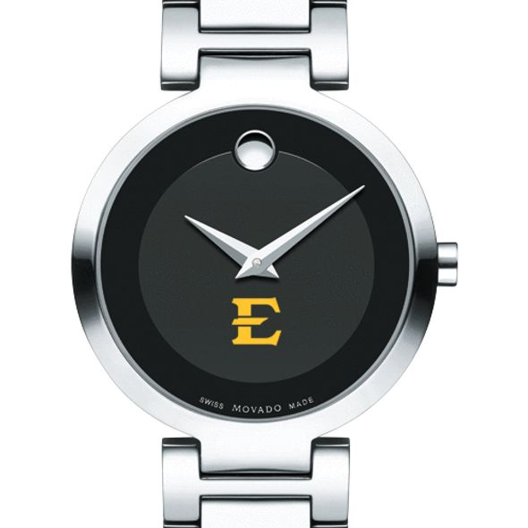 East Tennessee State University Women's Movado Museum with Steel Bracelet