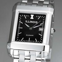 University of Illinois Men's Black Quad with Bracelet