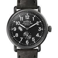 SFASU Shinola Watch, The Runwell 41mm Black Dial
