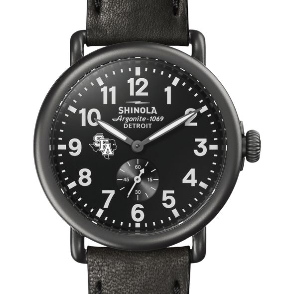 SFASU Shinola Watch, The Runwell 41mm Black Dial