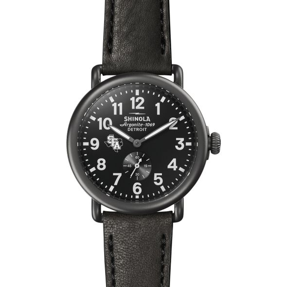 SFASU Shinola Watch, The Runwell 41mm Black Dial - Image 2