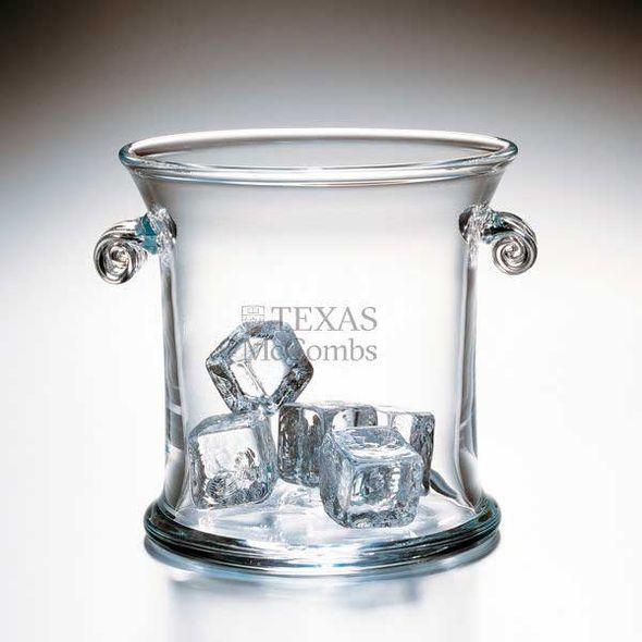 Texas McCombs Glass Ice Bucket by Simon Pearce - Image 1
