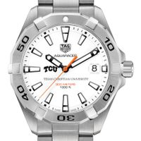 Texas Christian University Men's TAG Heuer Steel Aquaracer