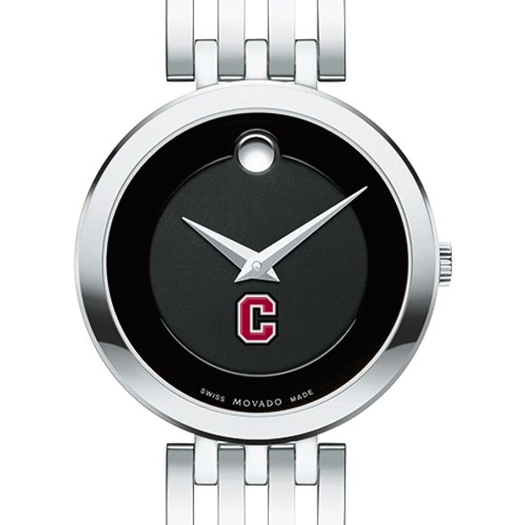 Colgate University Women's Movado Esparanza Stainless Steel Museum with Bracelet