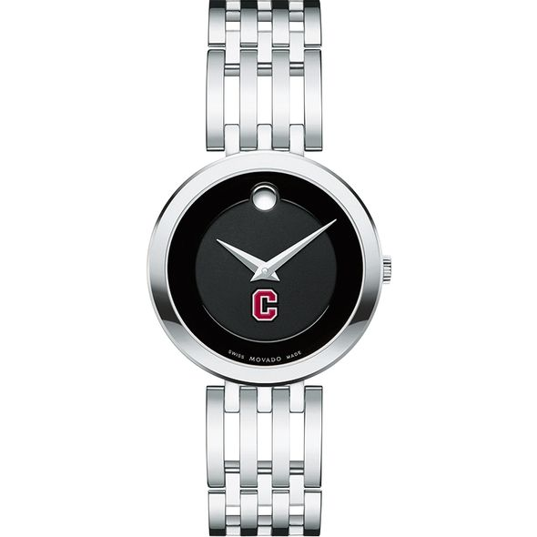 Colgate University Women's Movado Esparanza Stainless Steel Museum with Bracelet - Image 2