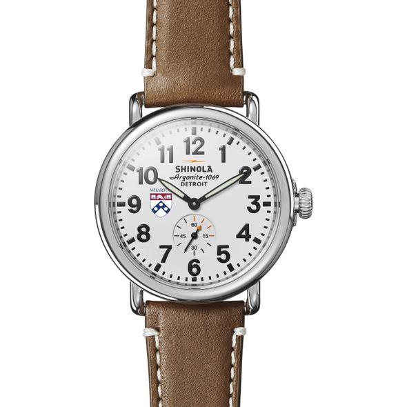 Wharton Shinola Watch, The Runwell 41mm White Dial - Image 2