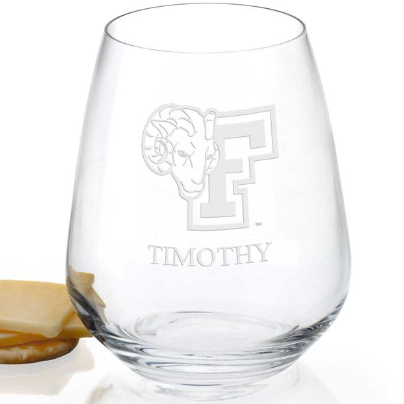 Fordham Stemless Wine Glasses - Set of 4 - Image 2