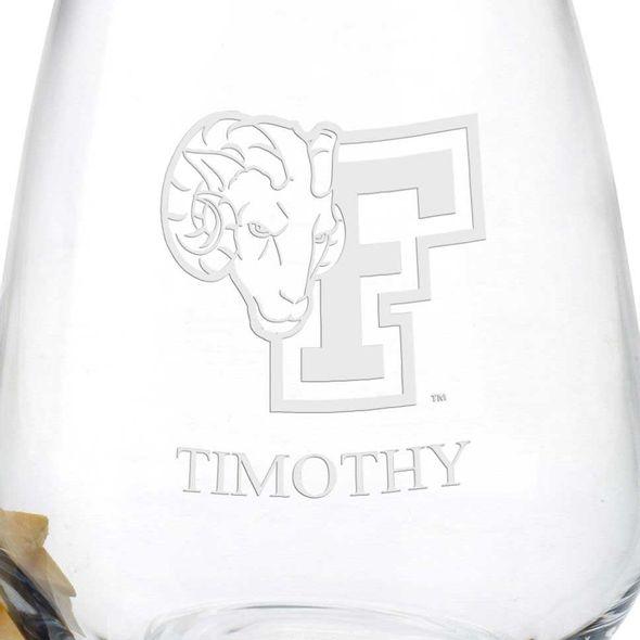 Fordham Stemless Wine Glasses - Set of 4 - Image 3