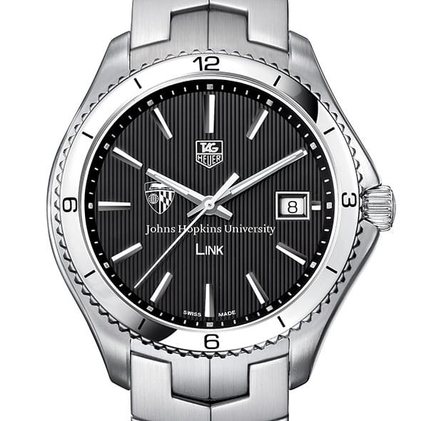 Johns Hopkins TAG Heuer Men's Link Watch with Black Dial