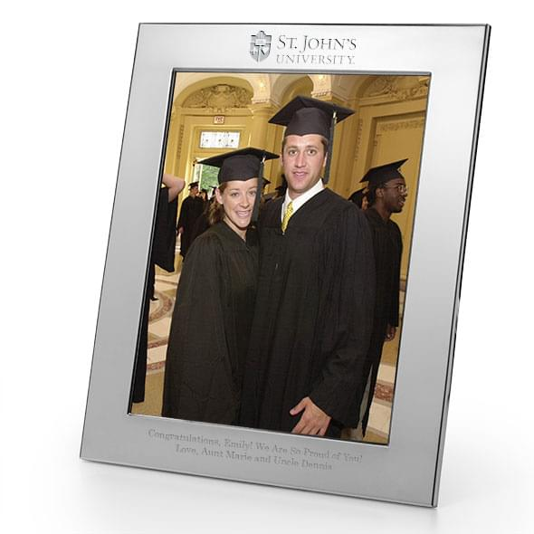 St. John's Polished Pewter 8x10 Picture Frame