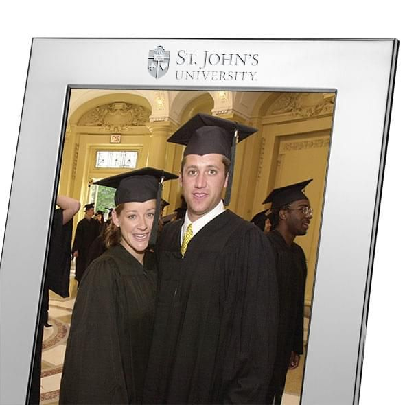 St. John's Polished Pewter 8x10 Picture Frame - Image 2