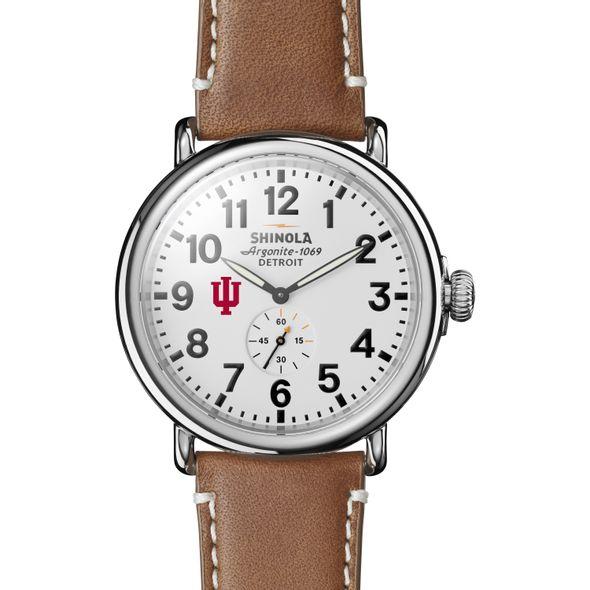 Indiana Shinola Watch, The Runwell 47mm White Dial - Image 2