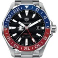 Loyola Men's TAG Heuer Automatic GMT Aquaracer with Black Dial and Blue & Red Bezel - Image 1