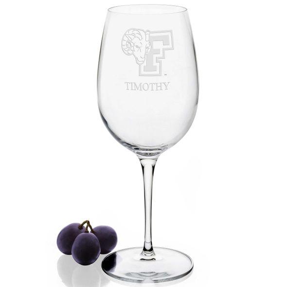 Fordham Red Wine Glasses - Set of 4 - Image 2
