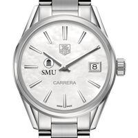Southern Methodist University Women's TAG Heuer Steel Carrera with MOP Dial