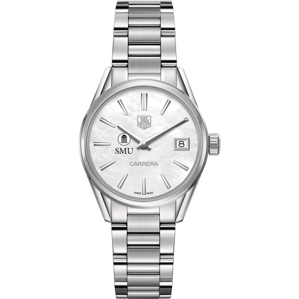Southern Methodist University Women's TAG Heuer Steel Carrera with MOP Dial - Image 2