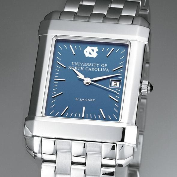 UNC Men's Blue Quad Watch with Bracelet