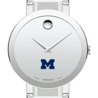 University of Michigan Men's Movado Sapphire Museum with Bracelet