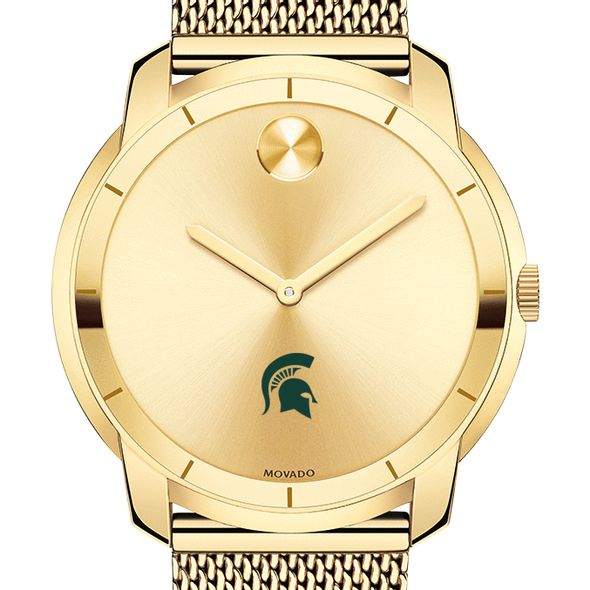 Michigan State University Men's Movado Gold Bold 44