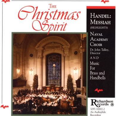 USNI Music CD - The Christmas Spirit