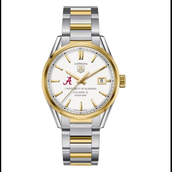 Alabama Men's TAG Heuer Two-Tone Carrera with Bracelet - Image 2