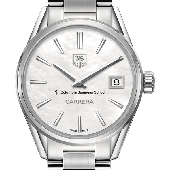 Columbia Business Women's TAG Heuer Steel Carrera with MOP Dial - Image 1