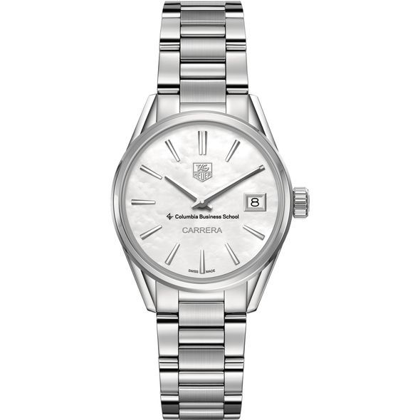 Columbia Business Women's TAG Heuer Steel Carrera with MOP Dial - Image 2