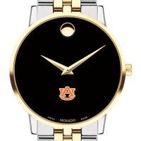 Auburn Men's Movado Two-Tone Museum Classic Bracelet