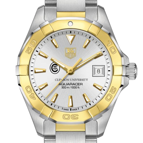 Clemson Women's TAG Heuer Two-Tone Aquaracer