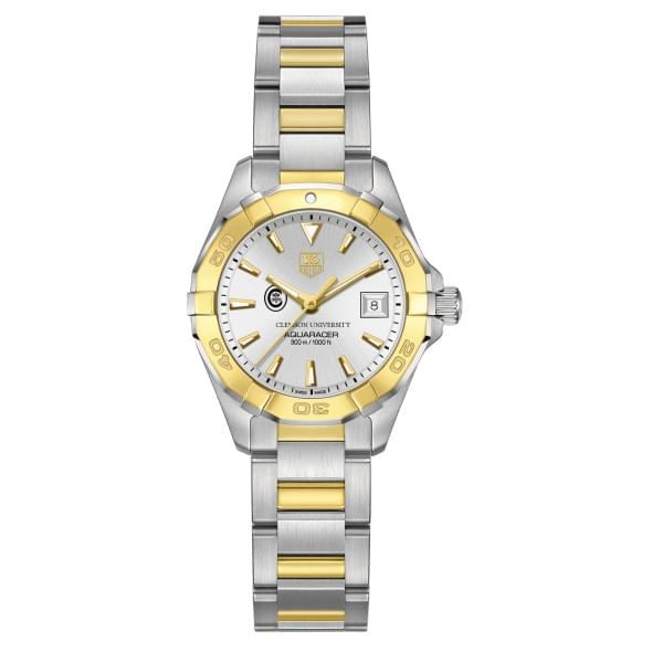 Clemson Women's TAG Heuer Two-Tone Aquaracer - Image 2
