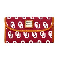 Oklahoma  Dooney & Bourke Continental Clutch