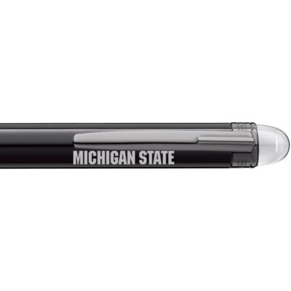 Michigan State University Montblanc StarWalker Ballpoint Pen in Ruthenium - Image 2