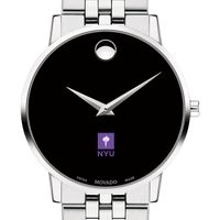 NYU Men's Movado Museum with Bracelet