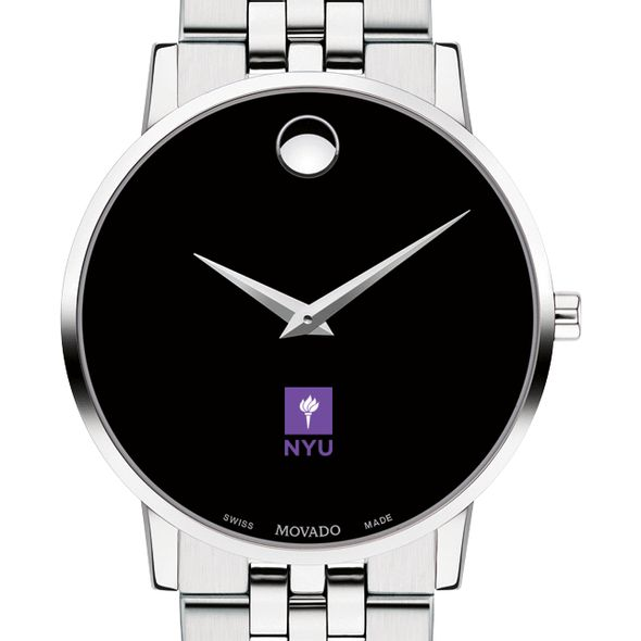 New York University Men's Movado Museum with Bracelet