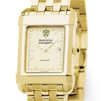 Princeton Men's Gold Quad Watch with Bracelet