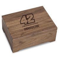 Kyle Larson Solid Walnut Collector's Box