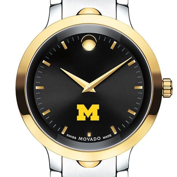 University of Michigan Men's Movado Luno Sport Two-Tone