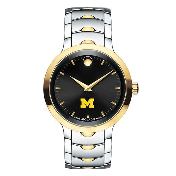 University of Michigan Men's Movado Luno Sport Two-Tone - Image 2