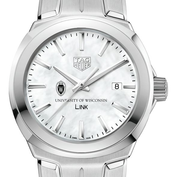University of Wisconsin TAG Heuer LINK for Women - Image 1