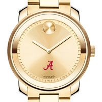 University of Alabama Men's Movado Gold Bold